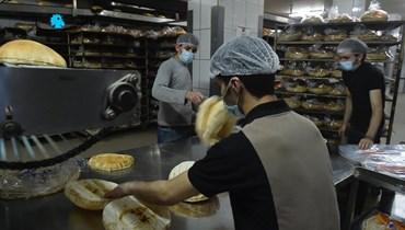 الخبز (تعبيرية - تصوير حسام شبارو).
