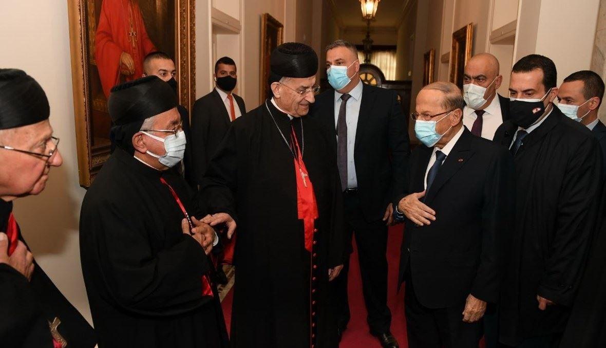 الرئيس ميشال عون والبطريرك الراعي