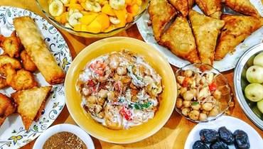 إفطار رمضان.
