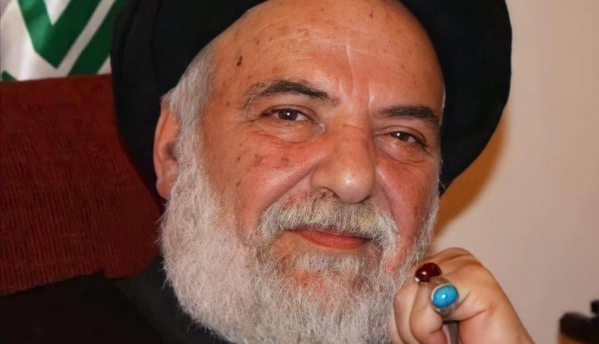 السيد محمد حسن الأمين.