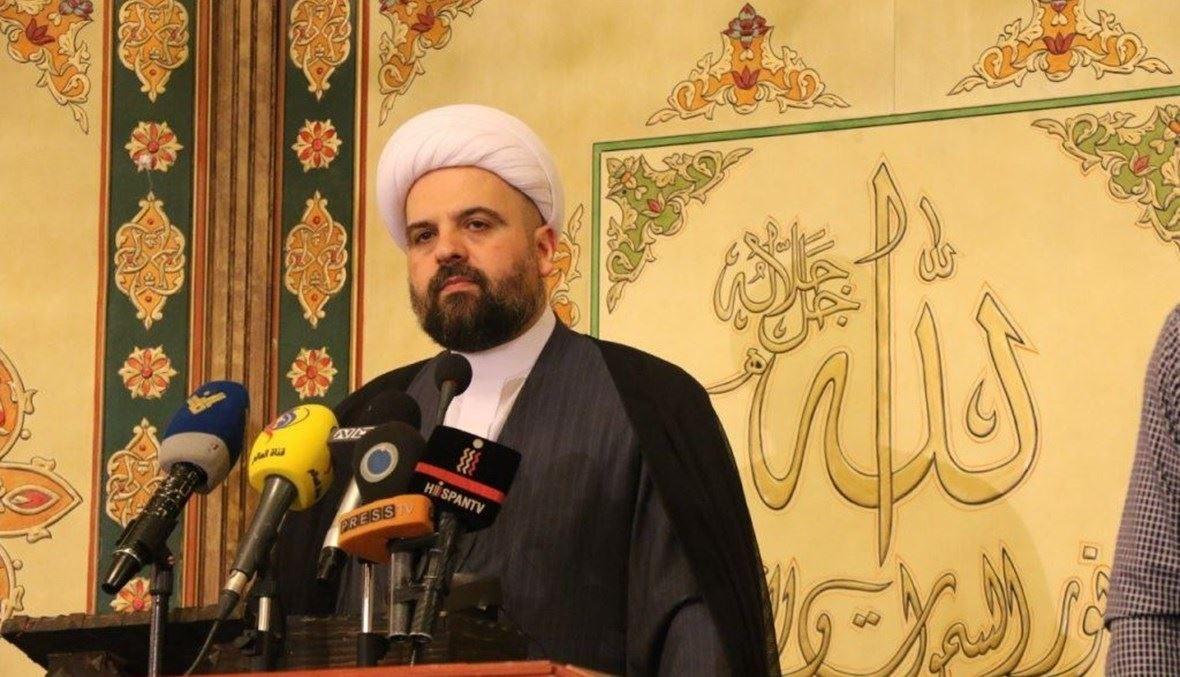 الشيخ أحمد قبلان.
