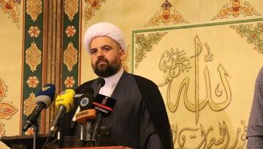 قبلان في رسالة شهر رمضان: المعادلة اليوم حكومة إنقاذ بعيداً من لعبة السفارات