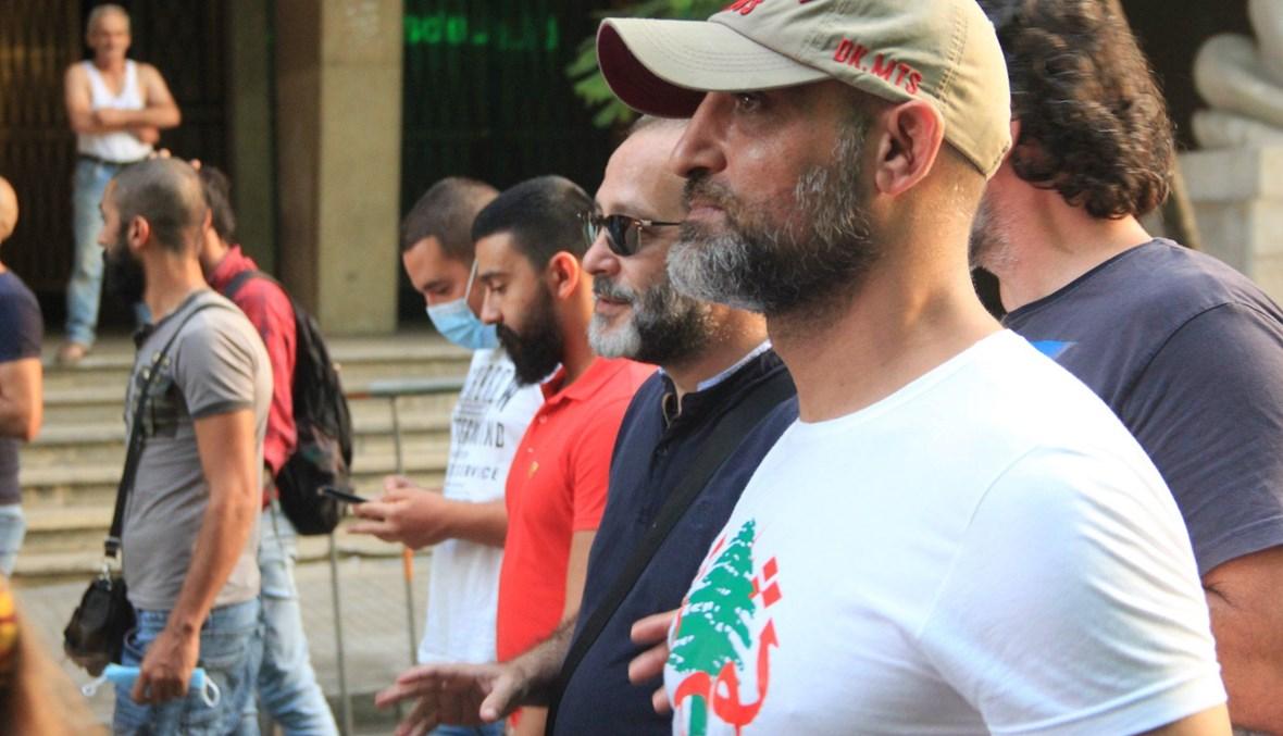 الممثل عبدو شاهين.