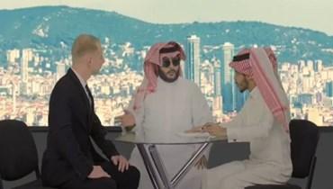 خالد الفراج يقلّد تركي آل الشيخ.