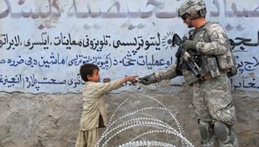 عنصر أميركي في أفغانستان (ا ف ب)