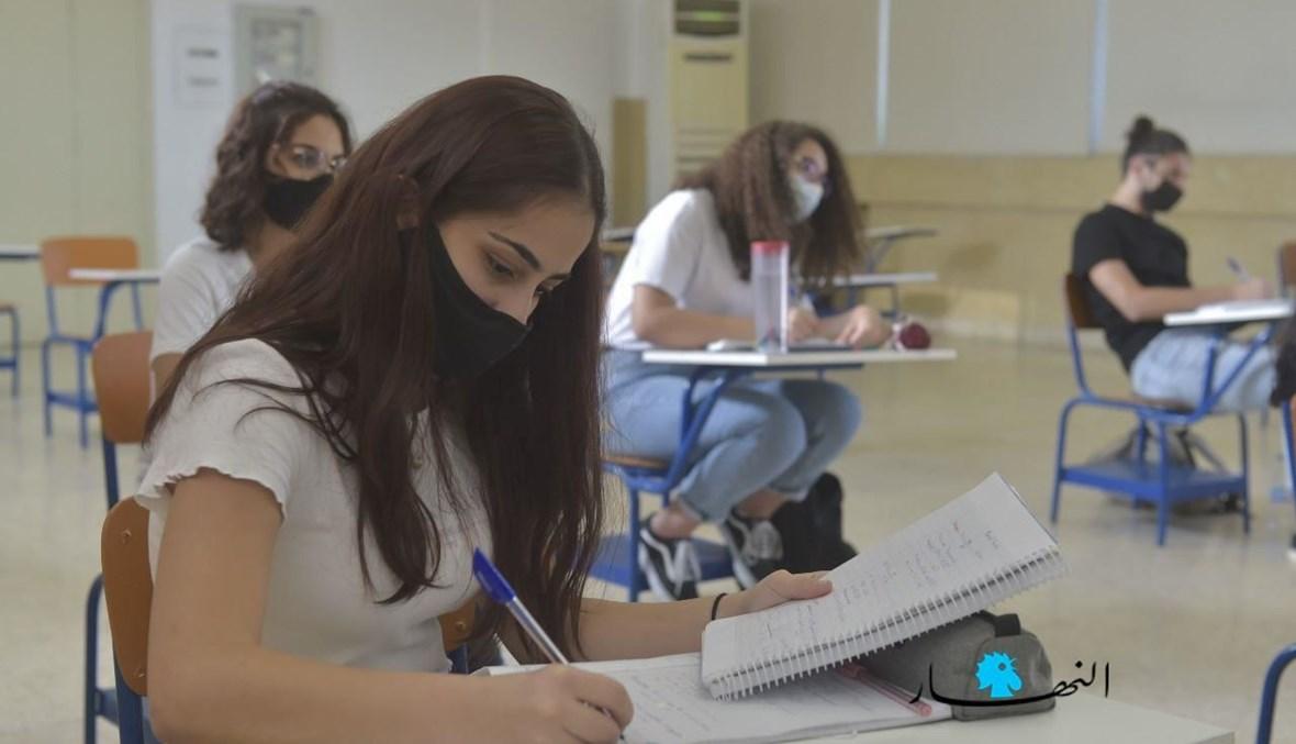 """""""تأكيد إجراء الامتحانات لا يعني أن هذا الاستحقاق التربوي سيكون مثالياً"""" (تعبيرية- تصوير حسام شبارو)."""