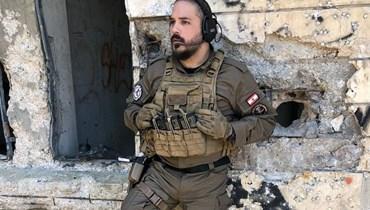 رامي عياش بدور الضابط جبران.