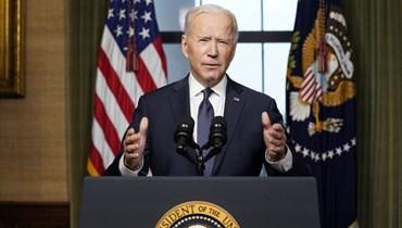 """بايدن يعلن سحب القوات الأميركية من أفغانستان بحلول أيلول: واشنطن """"حققت الهدف"""""""