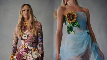 """الإلهام الزهري في مجموعة """"أوسكار دي لا رنتا"""" (صور)"""