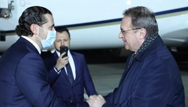 اتصال بين بوتين والحريري... نقاش حكومي وتأكيد روسي على الموقف الداعم للبنان