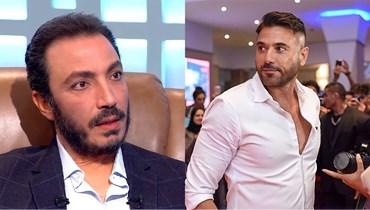 أحمد عز وطارق لطفي.