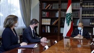 هيل يفرمل الاندفاعة اللبنانية  وصراع متفاقم بين بعبدا والسرايا
