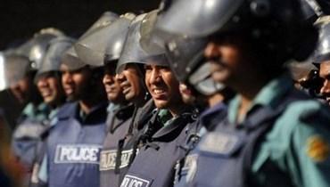 الشرطة في بنغلادش.