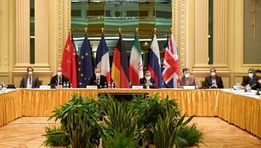 خلال المفاوضات (أ ف ب).