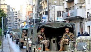 دورية للجيش.