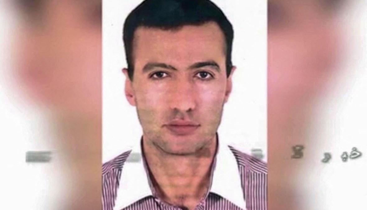 """صورة عرضها التلفزيون الحكومي الايراني IRIB لرضا كريمي الذي تتهمه وزارة المخابرات ب""""تخريب"""" منشأة نطنز النووية (17 نيسان 2021، أ ف ب)."""
