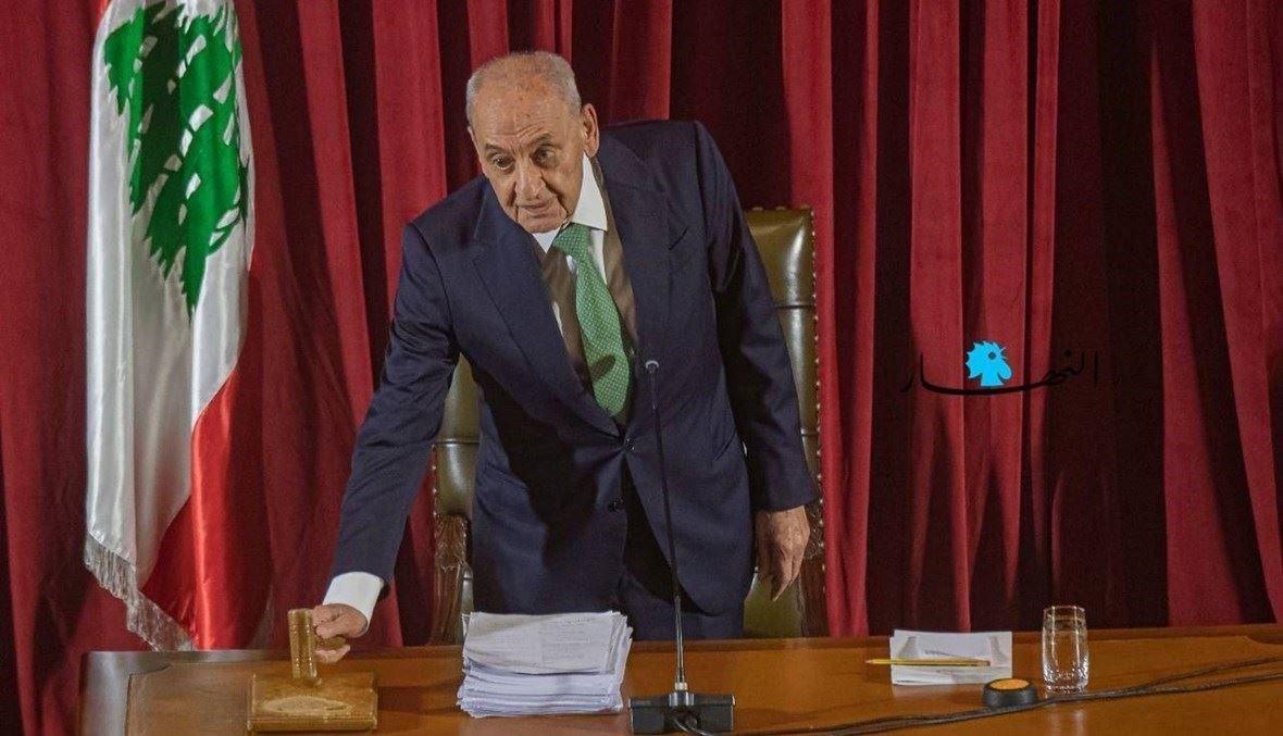 الرئيس نبيه بري (نبيل اسماعيل).