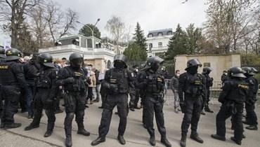 الشرطة الروسية (ا ف ب)