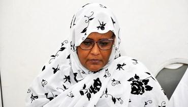 وزيرة الخارجية السودانية مريم الصادق المهدي في صورة من الارشيف.