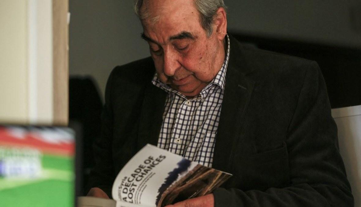 ميشال كيلو (أ ف ب).