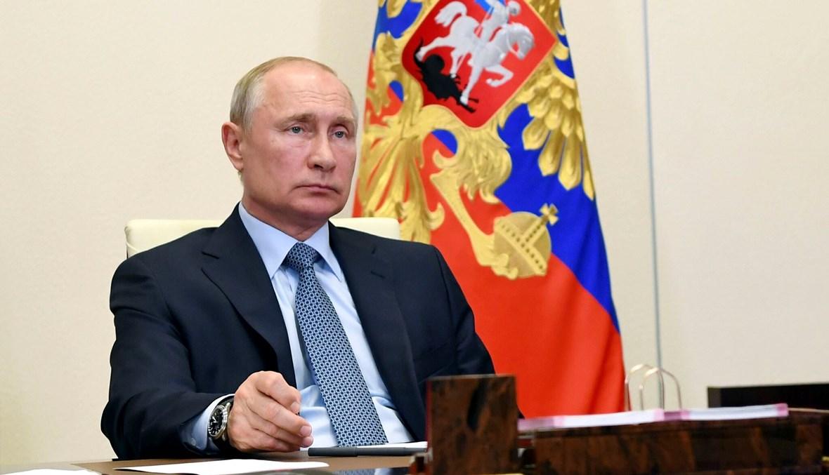 """الرئيس الروسي فلاديمير بوتين - """"أ ب"""""""