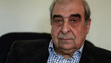 المعارض السوري ميشال كيلو (أ ف ب).