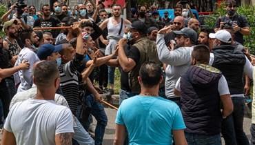 تظاهرة العدلية (تصوير مارك فياض)
