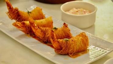الجمبري بالكنافة: طبق شهيّ لإفطار رمضاني