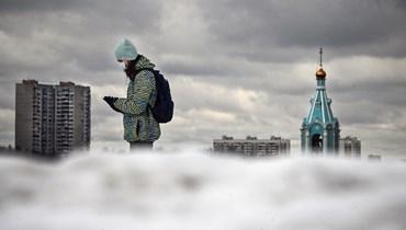 مشهد عام من غرب موسكو (تعبيرية- أ ف ب).