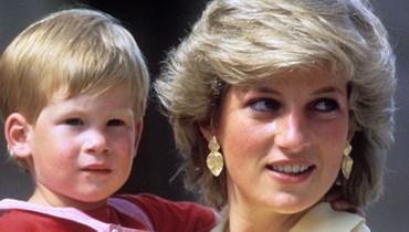 الأمير هاري والأميرة ديانا.