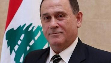 وزير الصناعة عماد حب الله.