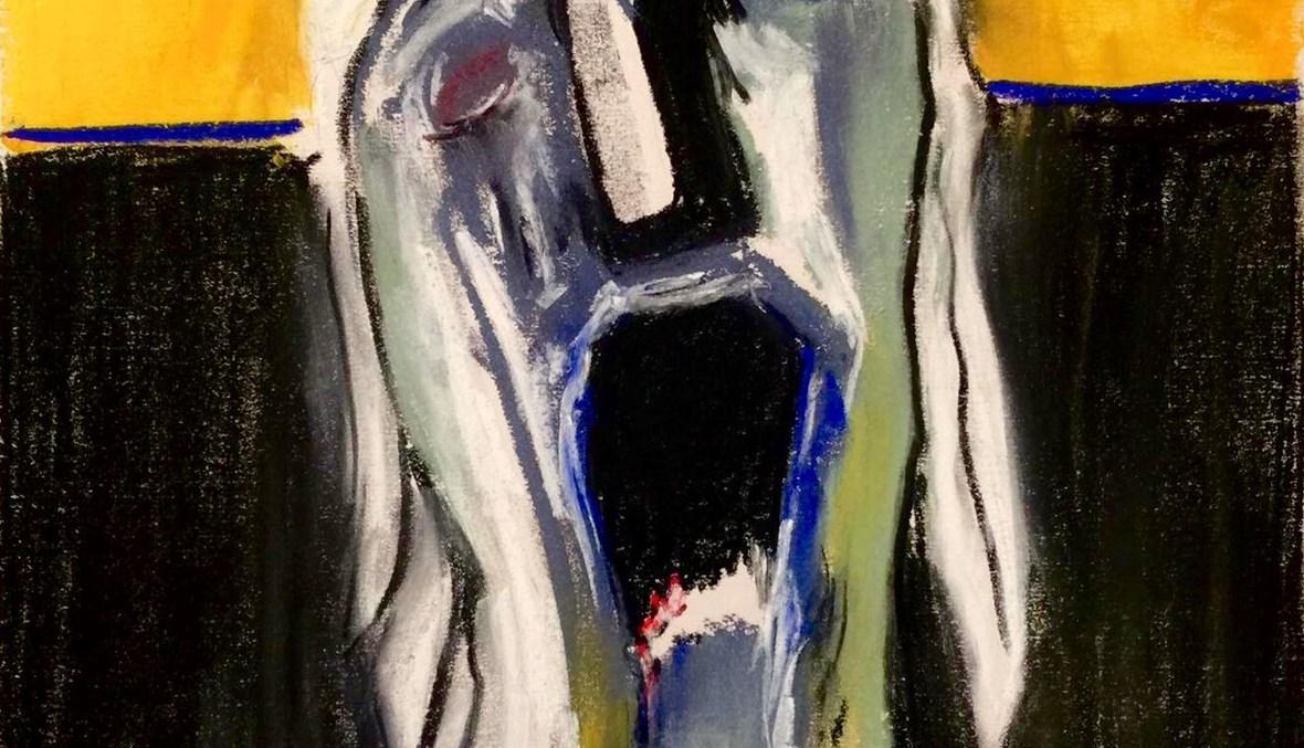 العدم ورأس جبل الجليد في لوحة شوقي دلال.