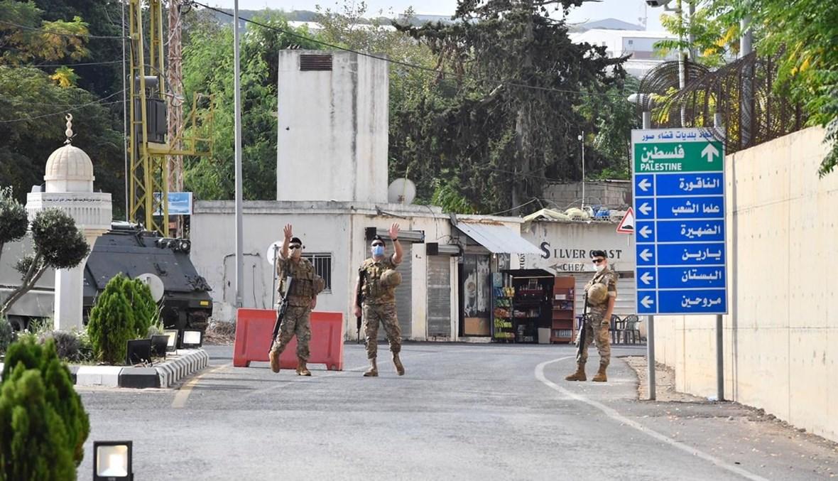 نقطة للجيش في الناقورة (نبيل اسماعيل).