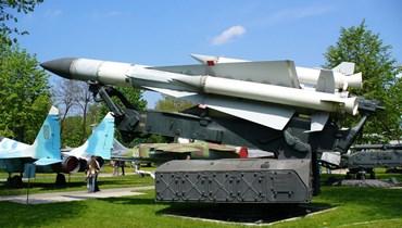 """صاروخ """"SA-5""""."""