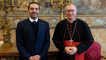 الحريري مرتاح لرفض الفاتيكان وروسيا حصرية التمثيل المسيحي ونسف الطائف