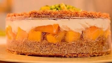 الكنافة بالمانغا والكريمة: حلوى ساحرة بعد الإفطار