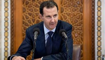 الرئيس السوري بشار الأسد (أ ف ب).