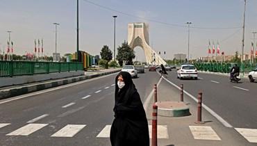 المشهد من طهران (أ ف ب).