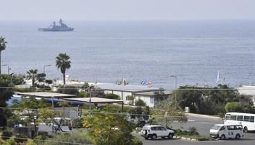 الحدود البحرية عند نقطة الناقورة (نبيل اسماعيل).