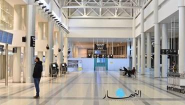 """مطار بيروت (تعبيرية - """"النهار"""")."""