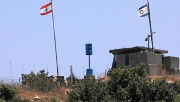 حدود لبنان الجنوبية