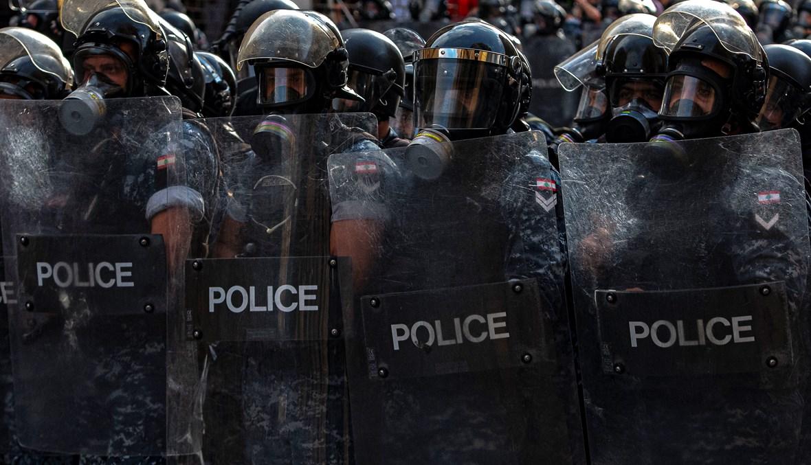 الشرطة اللبنانية (تصوير نبيل اسماعيل)