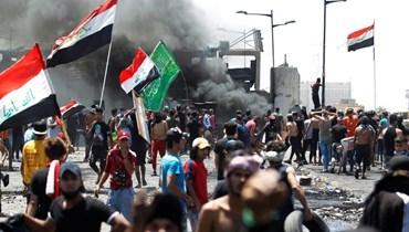 بالفيديو: غياب الخدمات يشعل تظاهرات في العراق.. والأمن يردّ بالرصاص