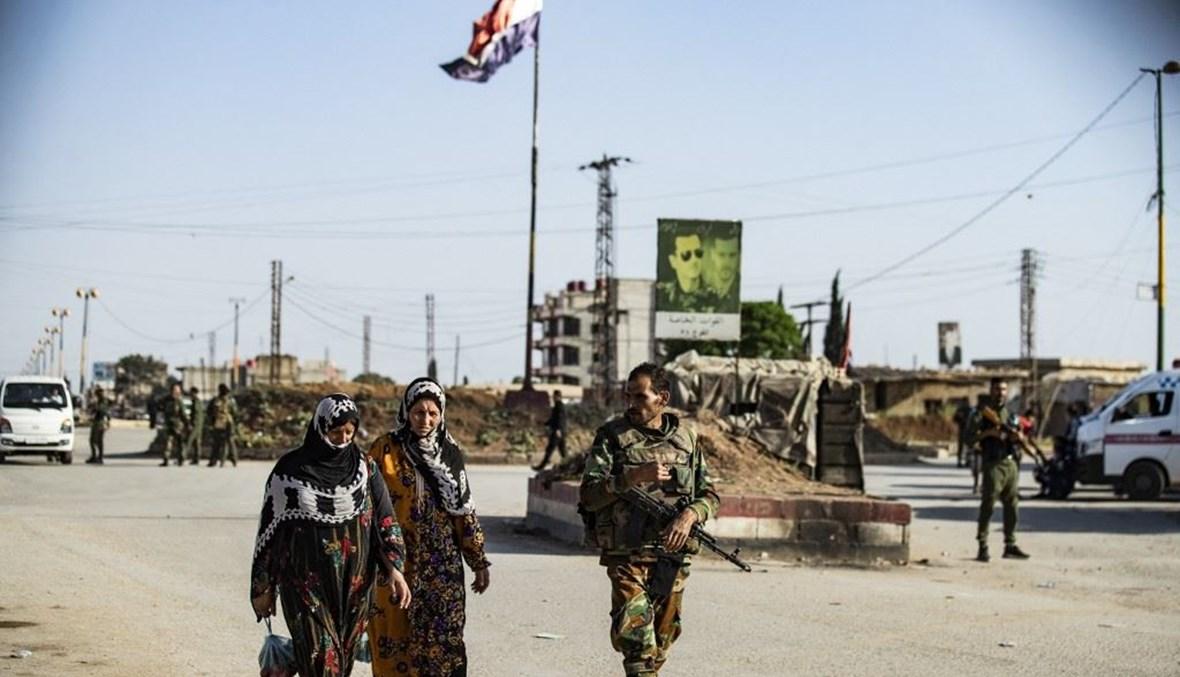 سوريا (أ ف ب).