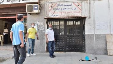 مركز المعاينة الميكانيكية في الأوزاعي (حسام شبارو).