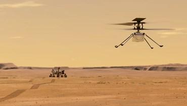 """عربي يقود هليكوبتر """"ناسا"""" إلى المرّيخ"""