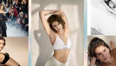 بالصور- كايا جربر تتباهى بالأوشام على كامل جسدها