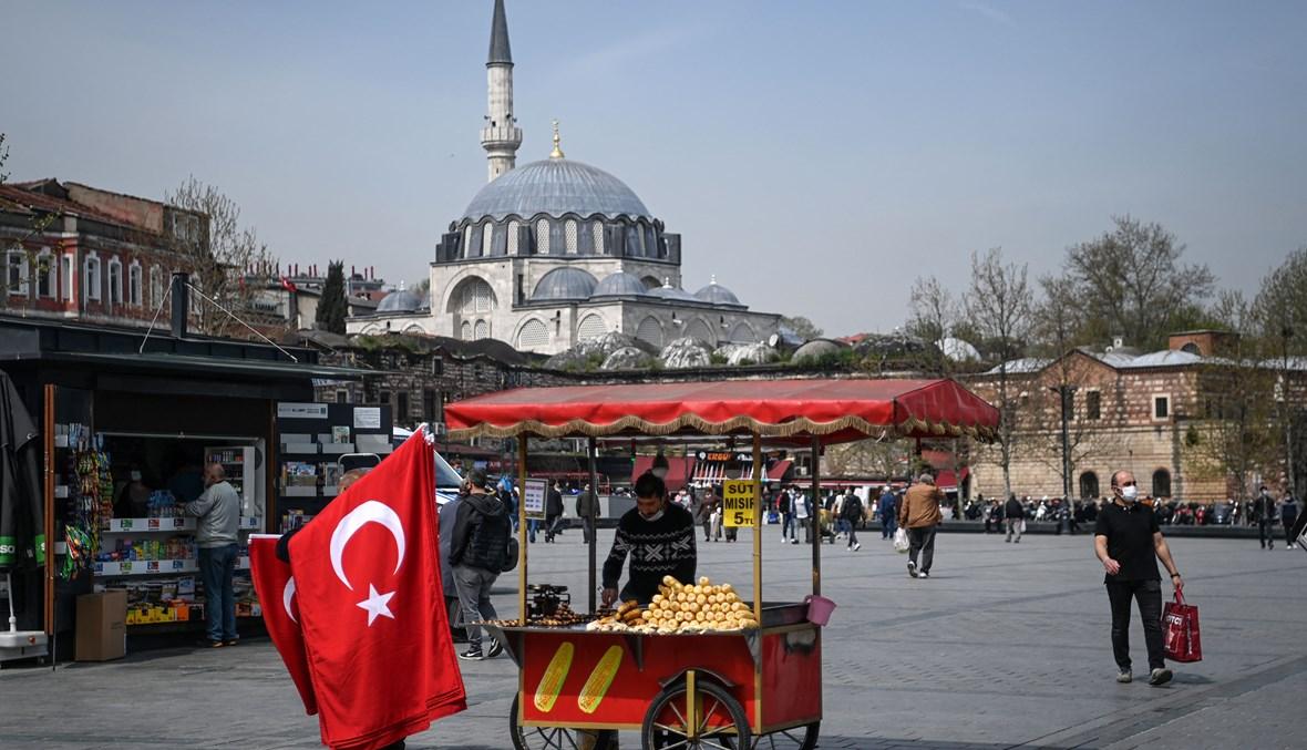 مشهد من إسطنبول (أ ف ب).