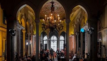 قصر سرسق (تعبيرية - تصوير نبيل إسماعيل).