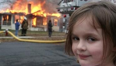 فتاة الكارثة